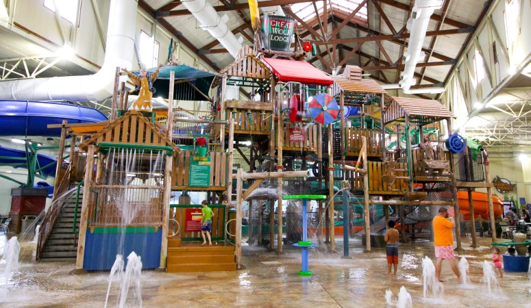 An Indoor Water Park Birthday Celebration