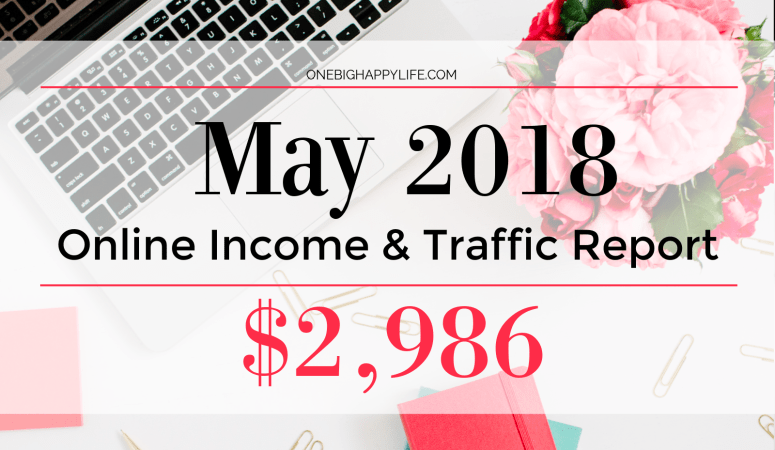 May 2018 Traffic and Income Report