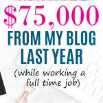 How I made 75,000 in online income last year