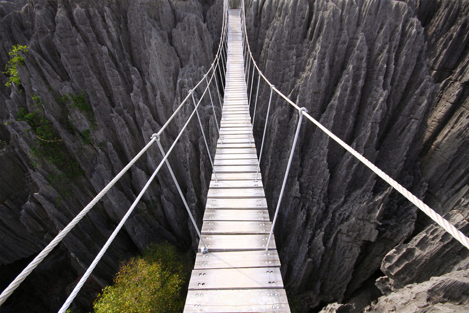 Image result for rope bridge