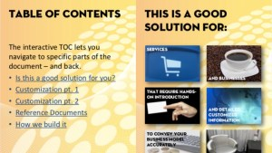 Interactive Brochure for Tablets