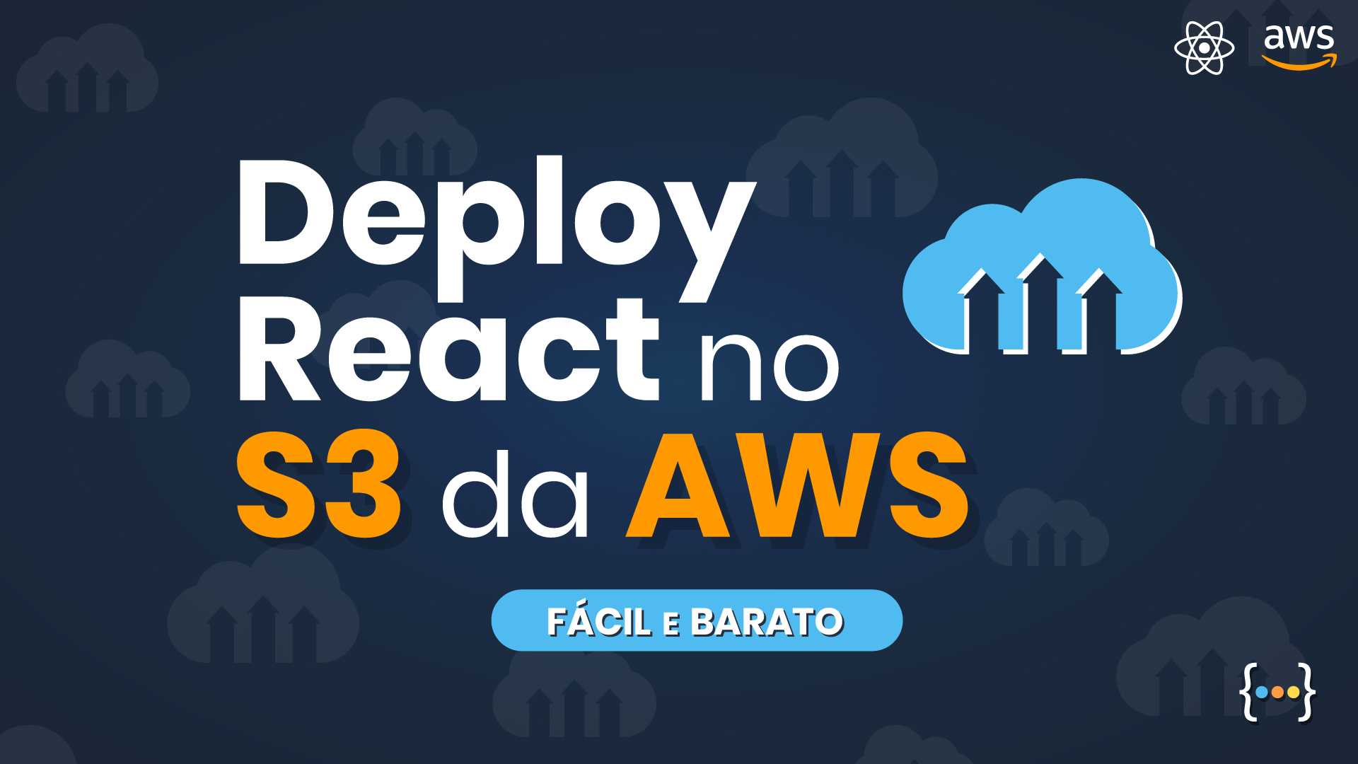 Deploy react no S3 da AWS