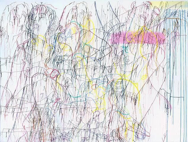 Ghada Amer Green Paradise for bodies