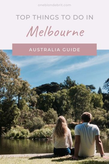 Melbourne must-see pin