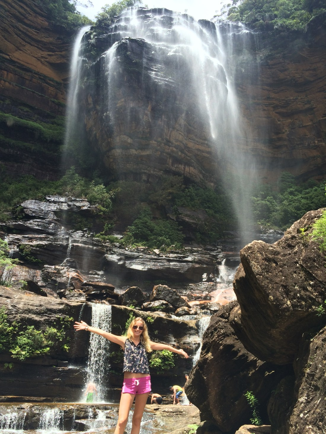 Wentworth Falls from Below