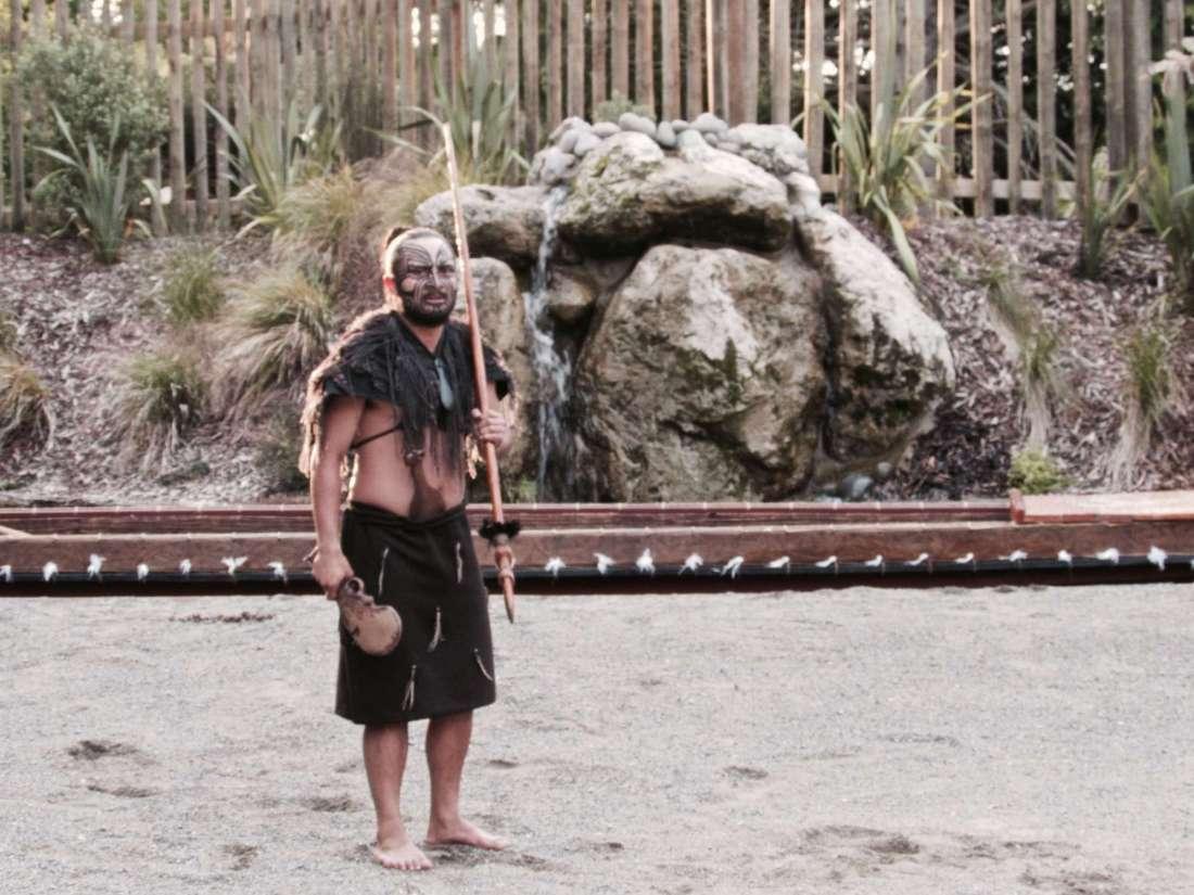 Tamaki Maori Village Chief