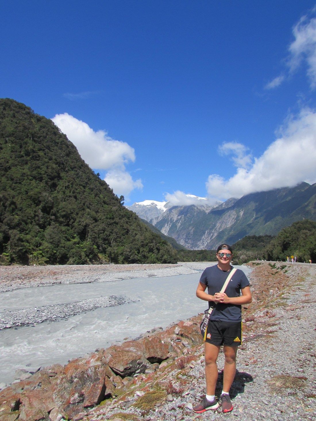Mike in Franz Josef, New Zealand