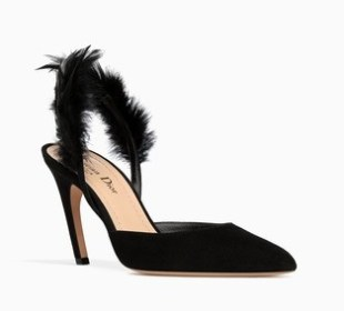 Dior Feather Slingbacks
