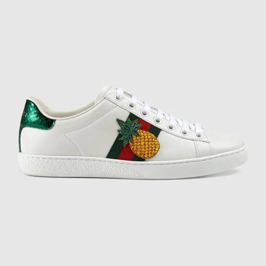 Gucci Ace Embroidered Sneakers