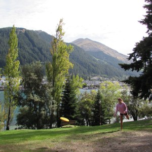 Frisbee Golf in Queenstown