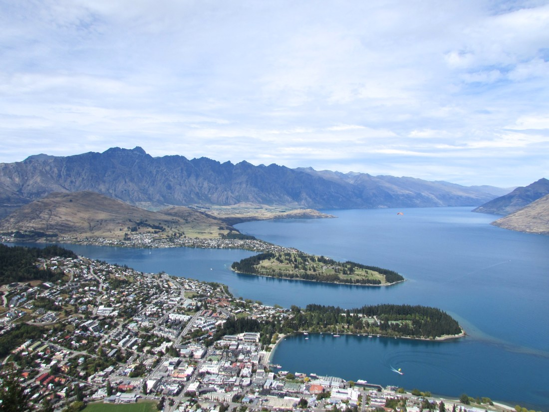 View of Queenstown, New Zealand