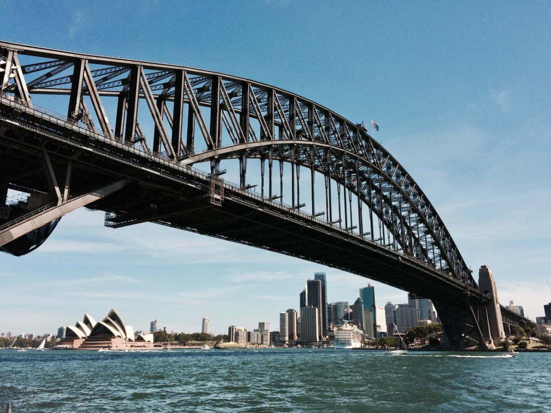 Best places to visit in Australia, Sydney Harbour Bridge the Opera House