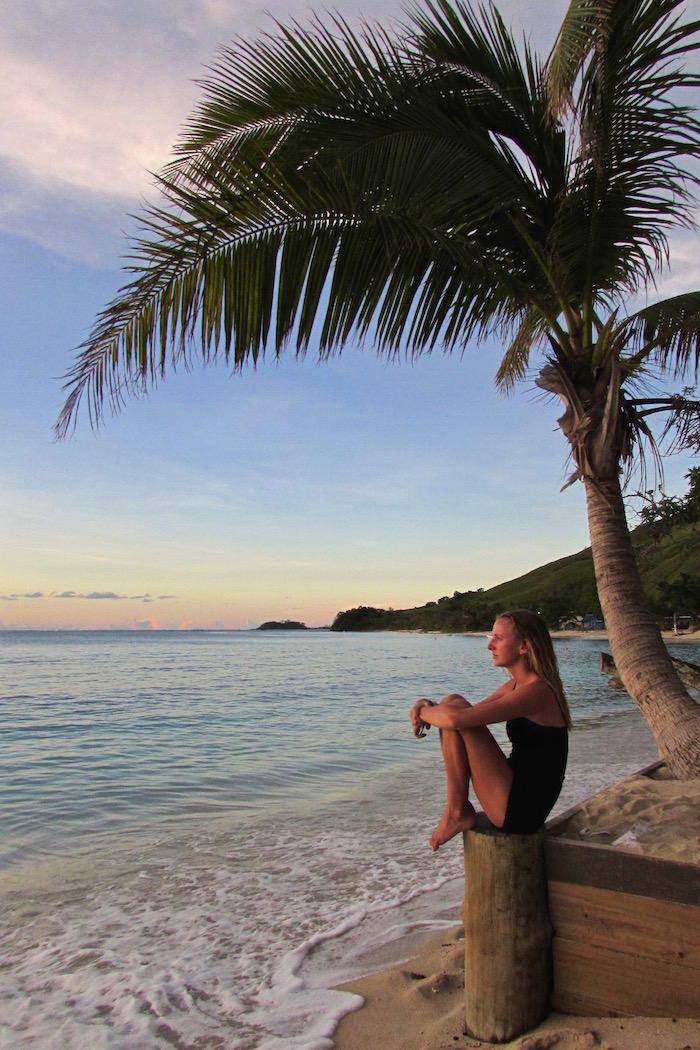 One Blonde Brit Fiji Sunset Featured Image