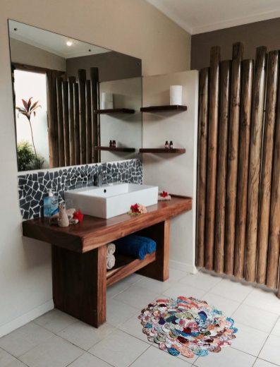 Outdoor Bathroom Fiji Resort