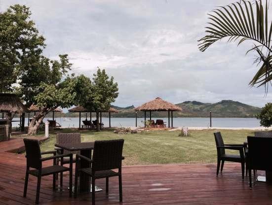 View From Nanuya Restaurant
