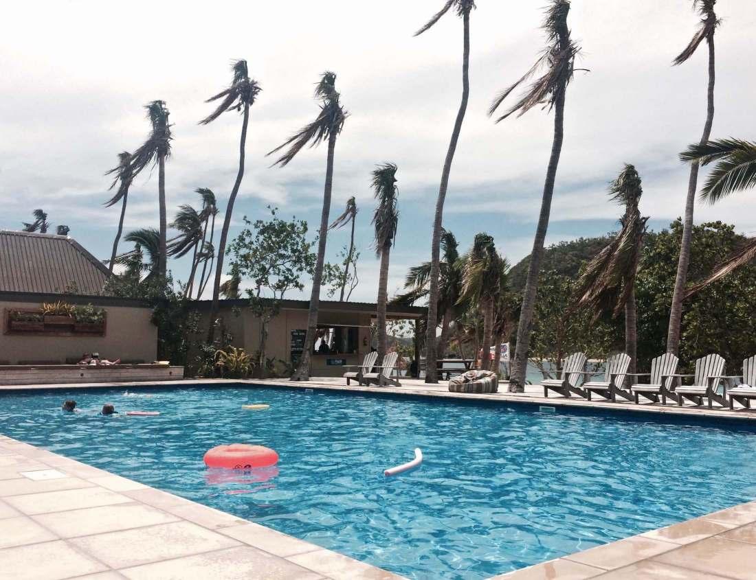 Main pool Fiji resort