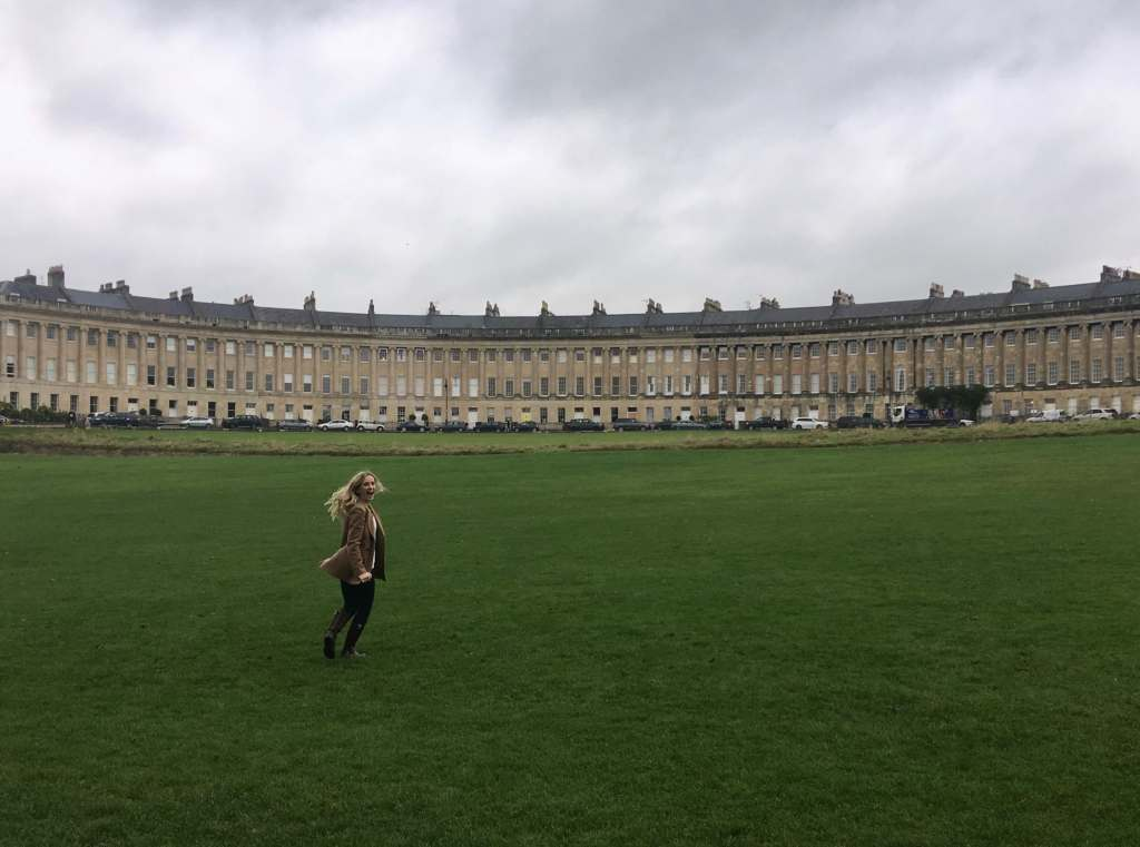 Guide to Bath, Royal Crescent lawn