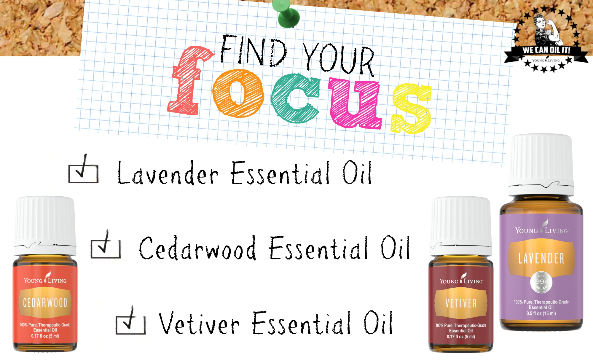 06.1 Focus - Lavender, Cedarwood, Vetiver
