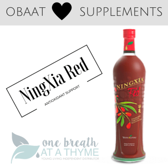 OBAAT Loves Supplements NingXia Red