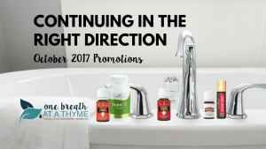 Continuing in the Right Direction: October 2017 Promotions