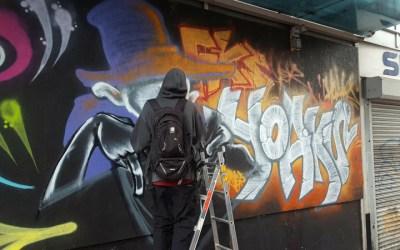 B-Side Hip-Hop Festival 2018 Graffiti Highlights