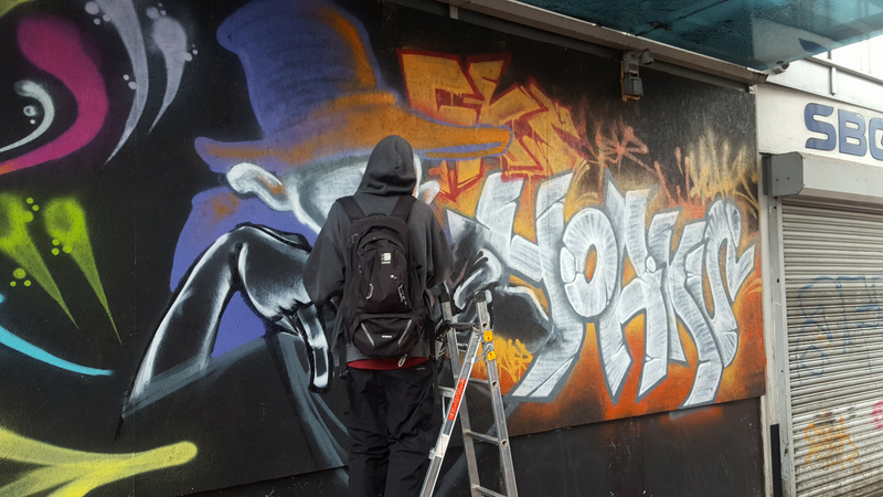 B-Side Hip-Hop Festival 2018 Graffiti Highlights
