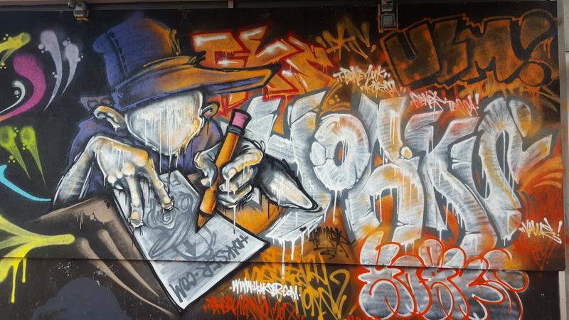 Hoakser graffiti