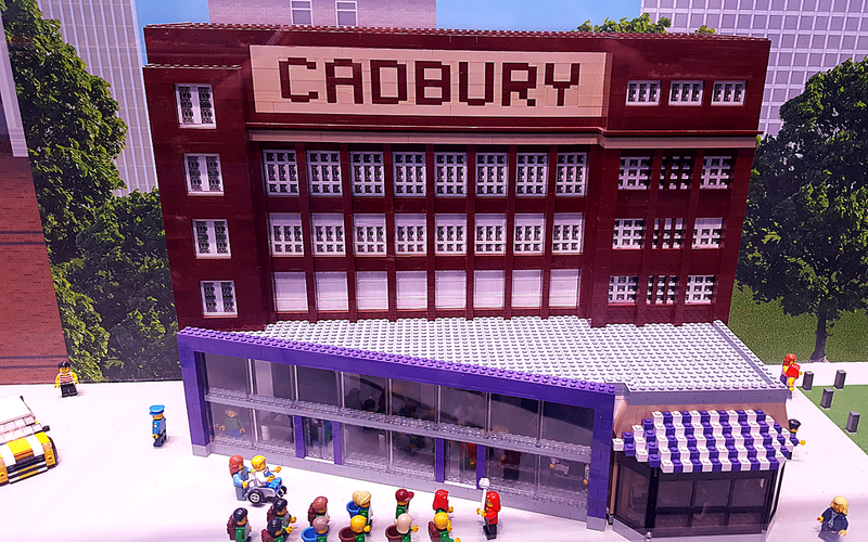 Lego Cadbury