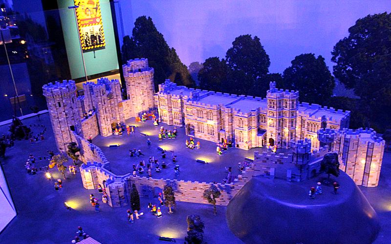 Lego Warwick Castle
