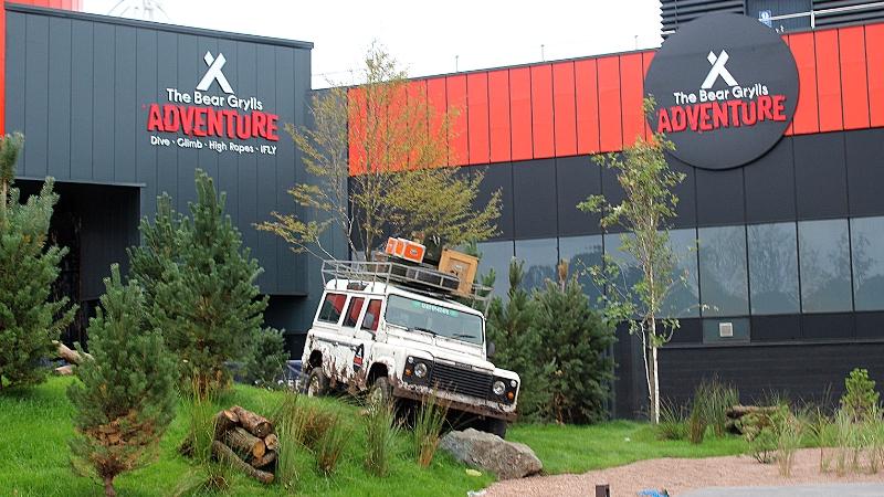 Bear Grylls Adventure Birmingham Entrance