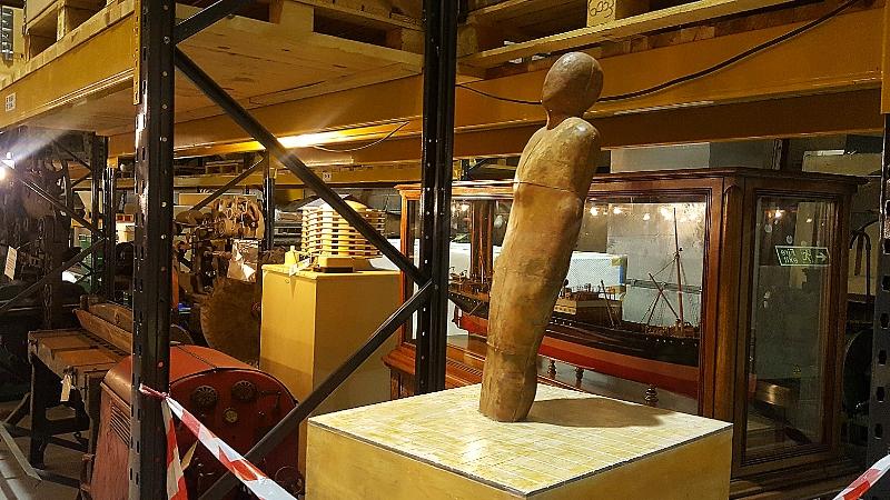 iron man statue prototype