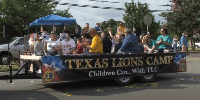 Details for Burleson's 4th of July Parade