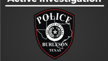 Burleson Police Department Active Investigation