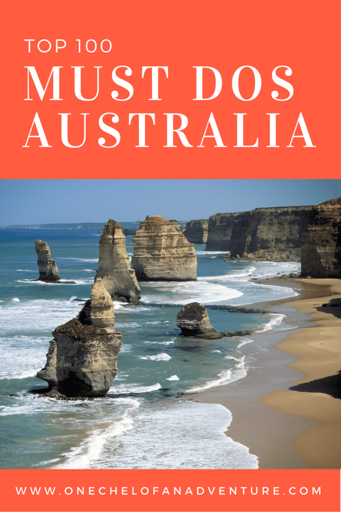 100+ MUST DOS IN AUSTRALIA - Ultimate Australia Bucket List
