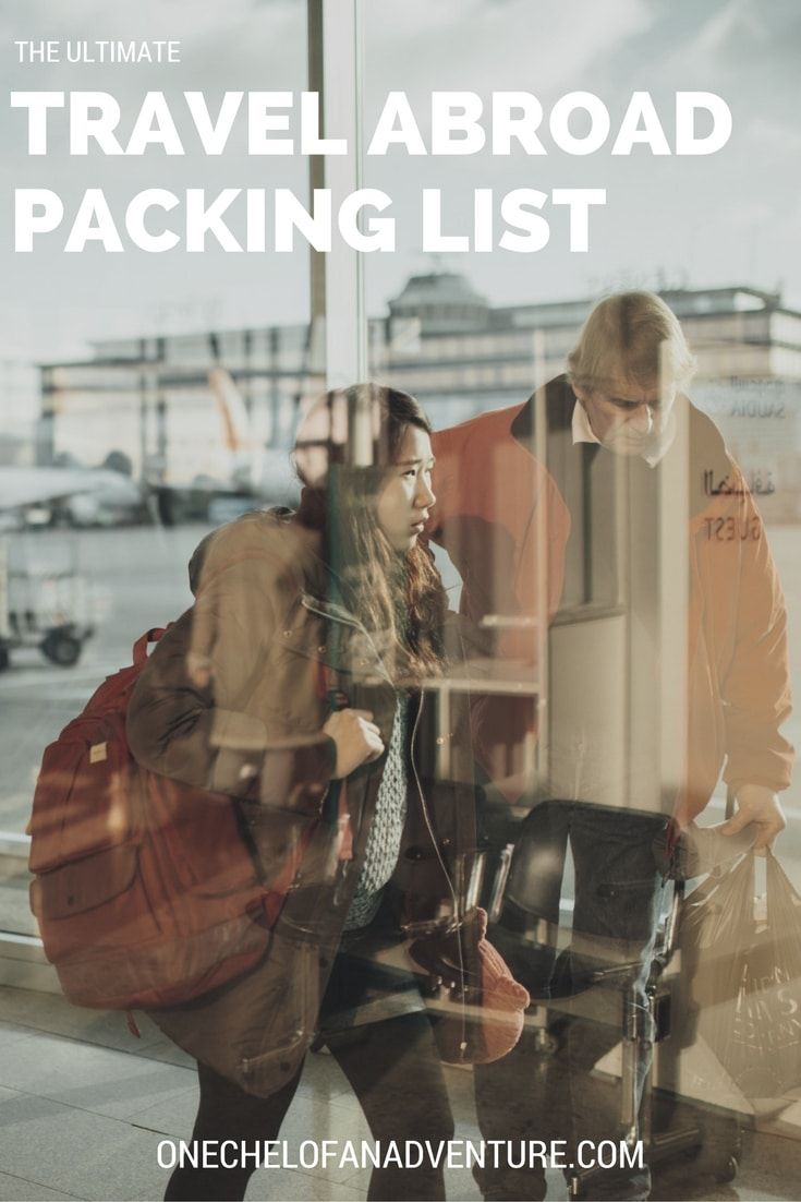 Ultimate Travel Abroad Packing List (free download