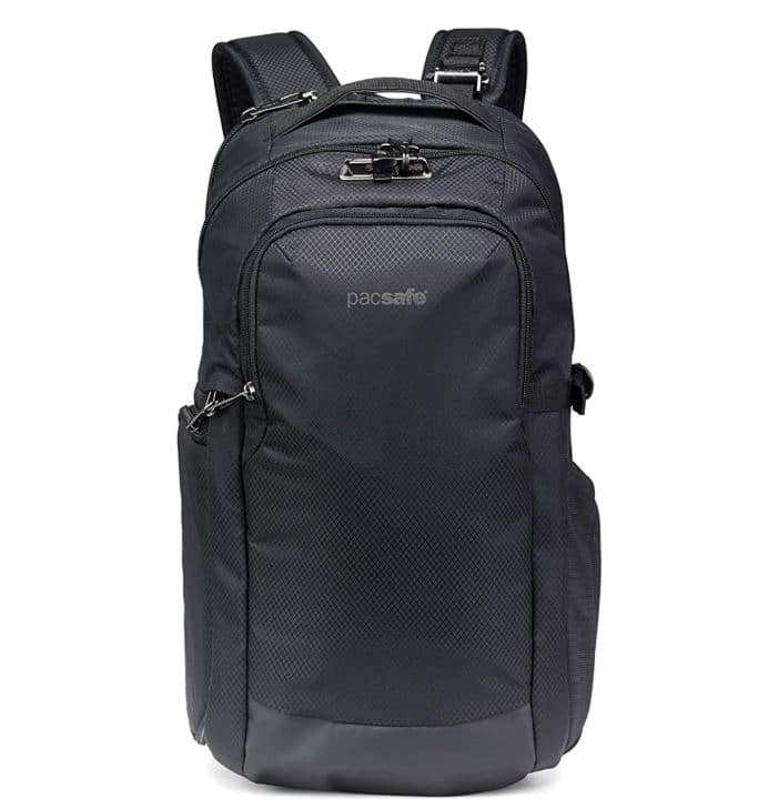 Carry On Essentials - pacsafe camera backpack