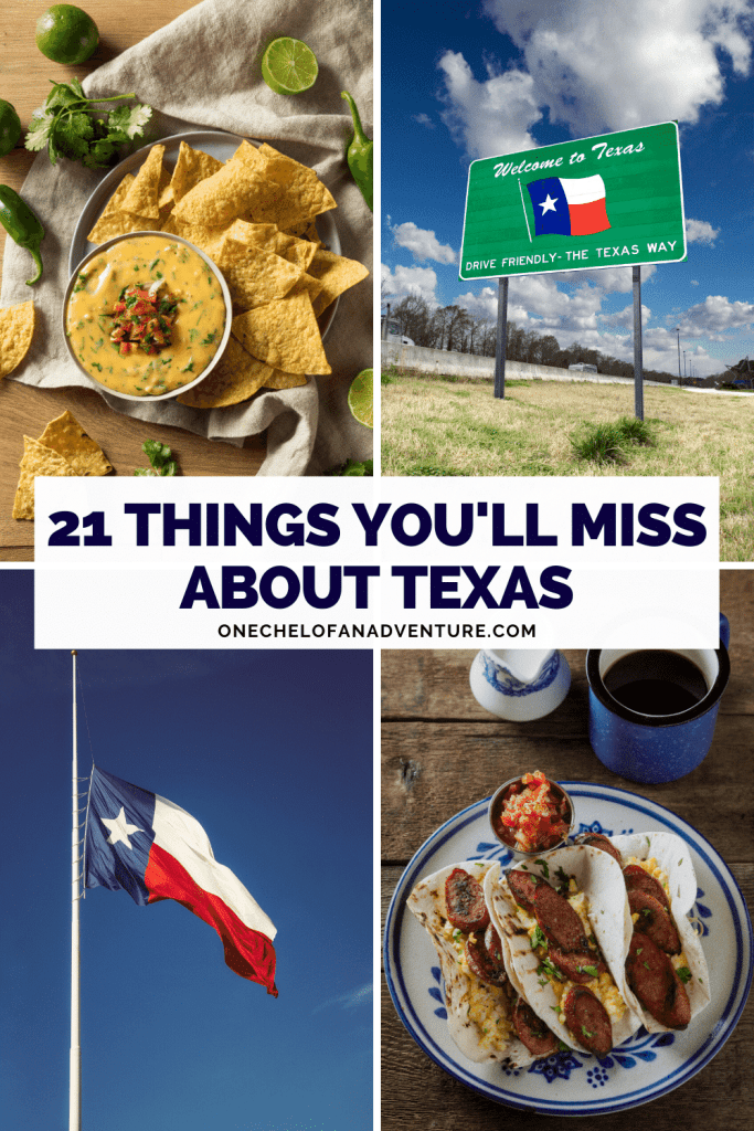 21 Things You'll Miss Most About Texas