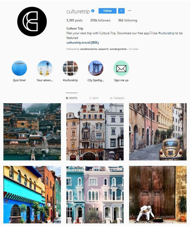 Instagram Accounts That Feature Travel photos-culturetrip