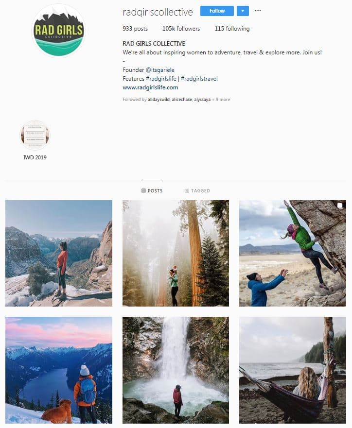 Instagram Accounts That Feature Travel photos-radgirls