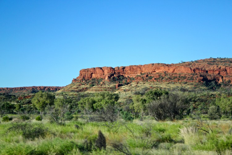 Australian Outback views on tour