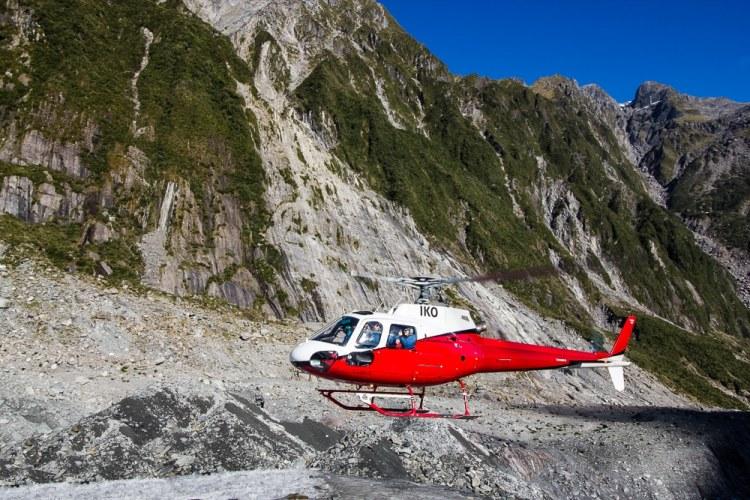 Helicopter tour Franz Josef Glacier