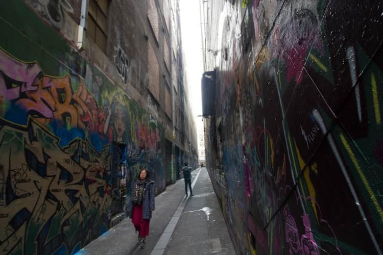 Stevenson Lane in Melbourne