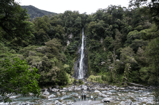 New Zealand Waterfall 4
