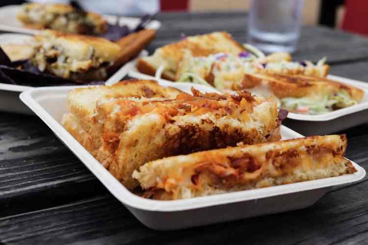 Emojis Grilled Cheese in Austin