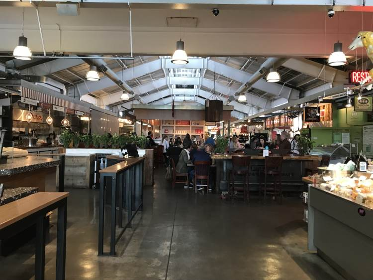 Oxbow Market in Napa