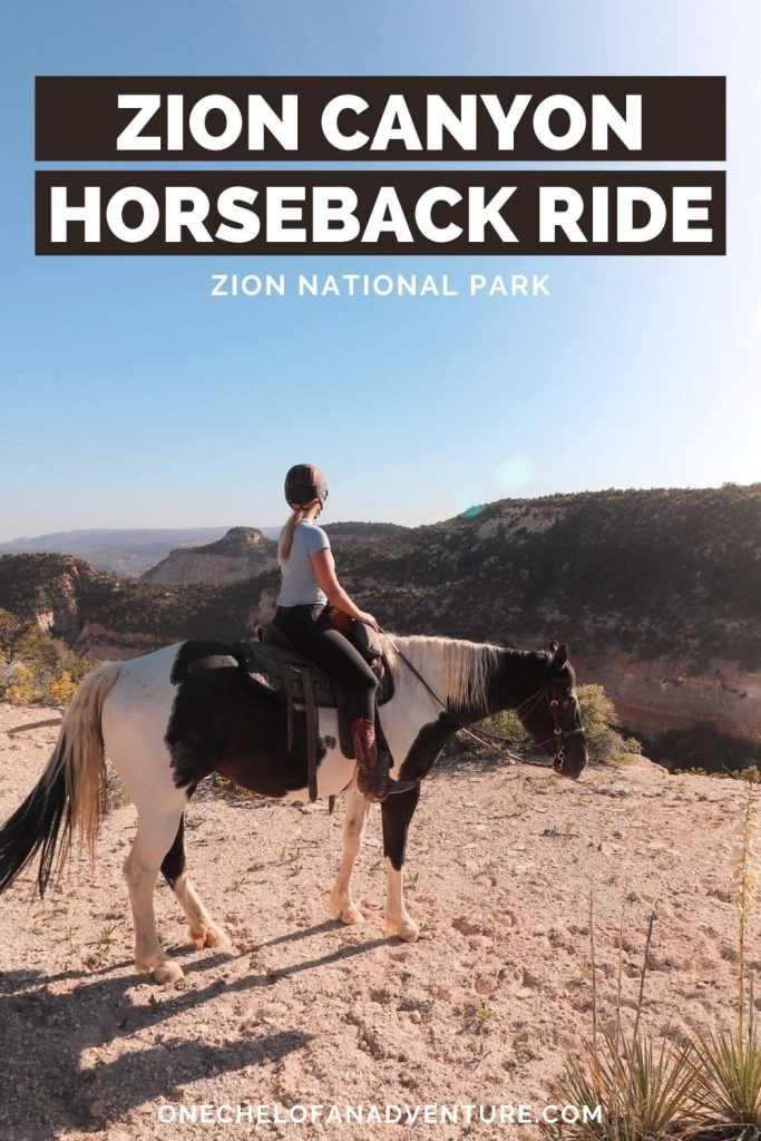Zion Horseback Ride