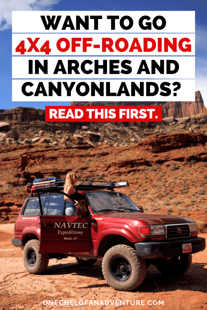 Canyonlands + Arches National Park 4x4 Off-Road Tour