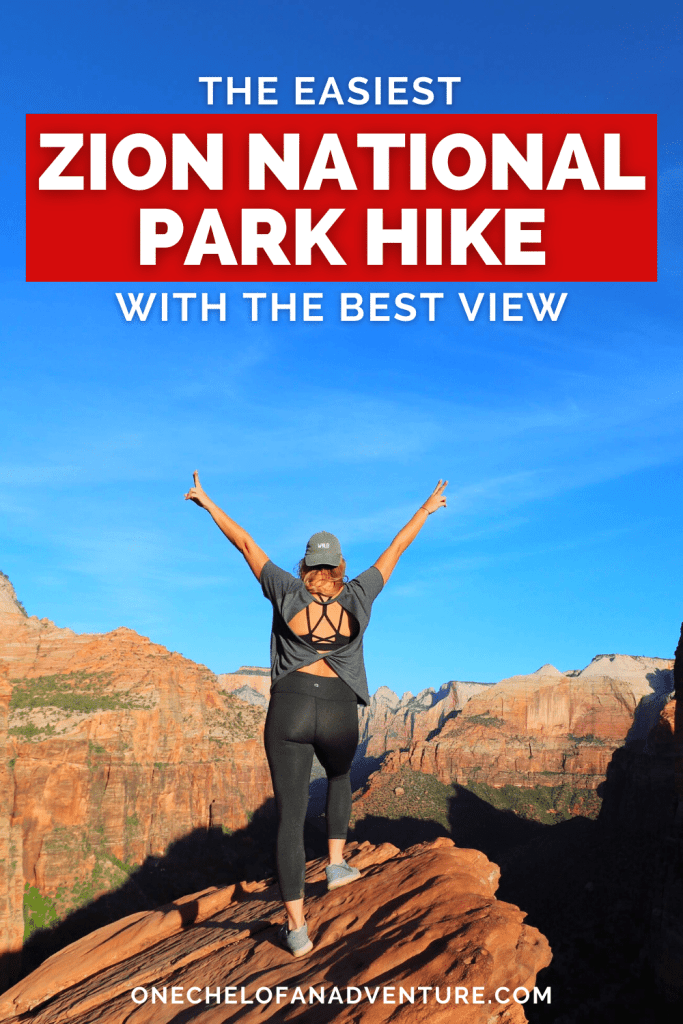 Easy Zion Hike - Canyon Overlook Trail