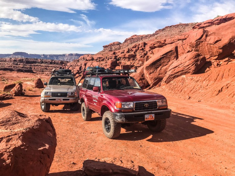 4x4 off road vehicle for canyonlands national park