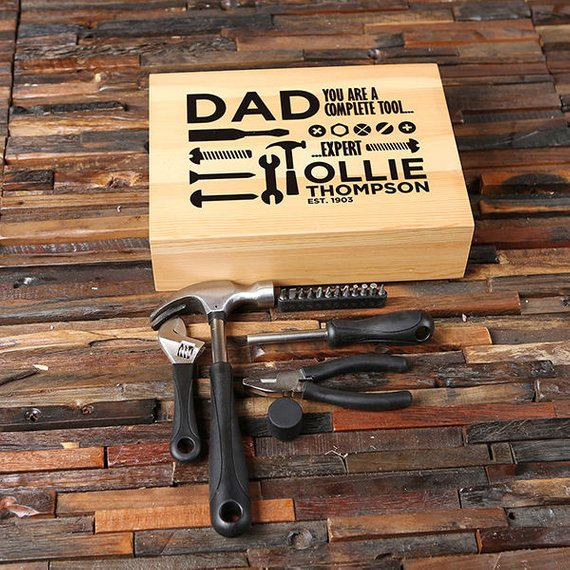 Personalized Tool Set gifts for men